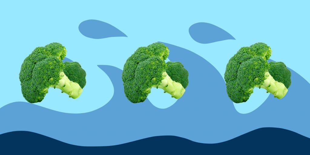 Готовка капусты брокколи
