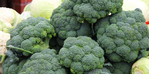 Как и сколько варить брокколи: Свежая капуста