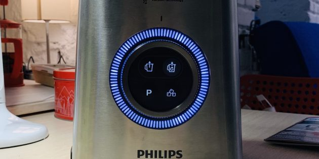 Обзор Philips HR3752: Кнопки