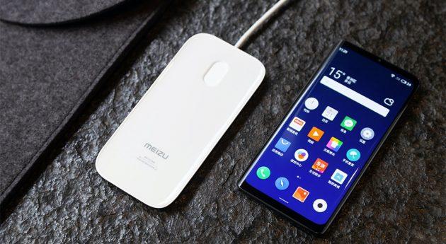 Meizu представила первый смартфон без отверстий и физических кнопок