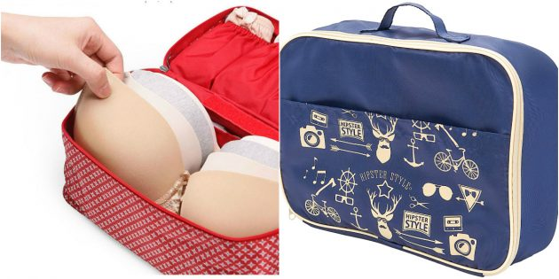 что подарить девушке на 8марта: сумочка для белья