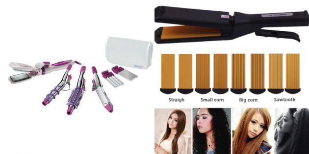 что подарить девушке на 8марта: прибор для укладки волос
