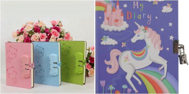 что подарить дочке на 8марта: дневник