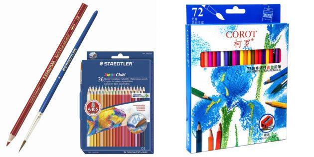 что подарить дочке на 8марта: набор цветных карандашей