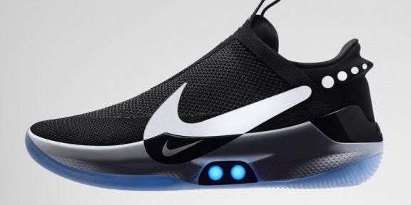Nike выпустила новые кроссовки с автоматической шнуровкой
