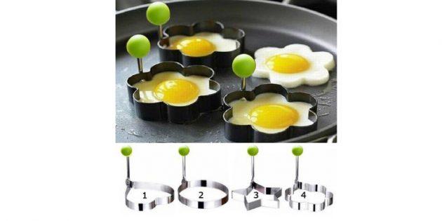 Формочки для приготовления яичницы