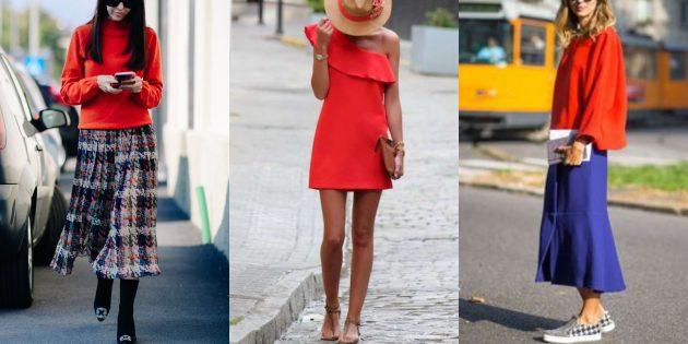Модные цвета 2019года: фиеста