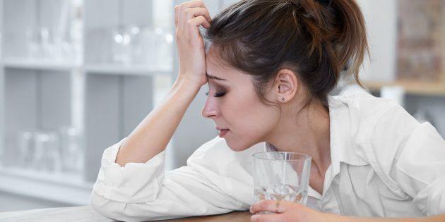 Продукт распада алкоголя