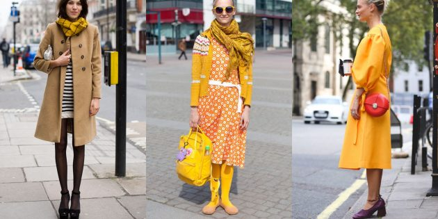 Модные цвета 2019года: куркума