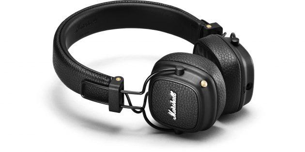 Лучшие беспроводные наушники: Marshall Major III Bluetooth