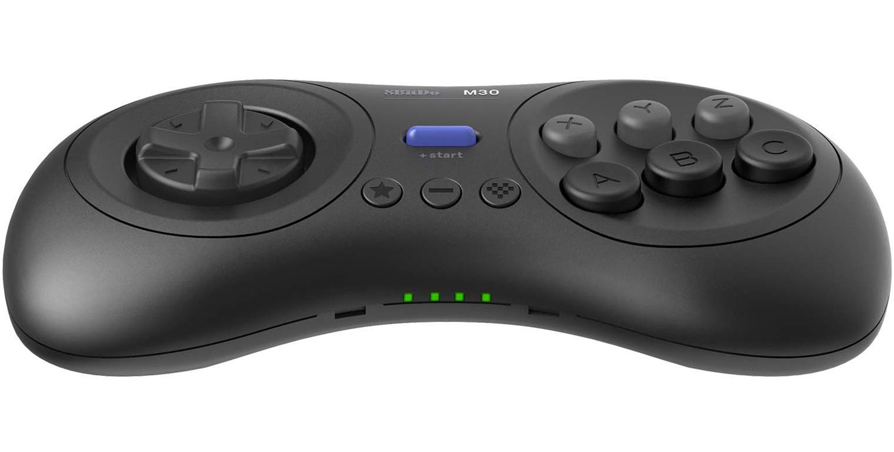 8BitDo выпустит беспроводные контроллеры от Sega Mega Drive