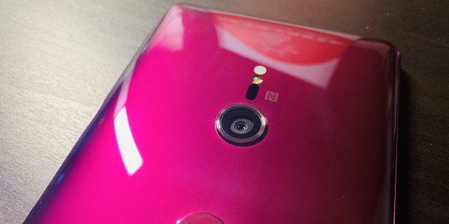 Sony Xperia XZ3: Камера