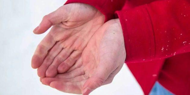 Первая помощь при обморожении: мягкая форма