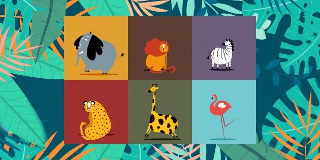 ТЕСТ: Как выглядит гепард, а как ягуар? Найдите животное на картинке!