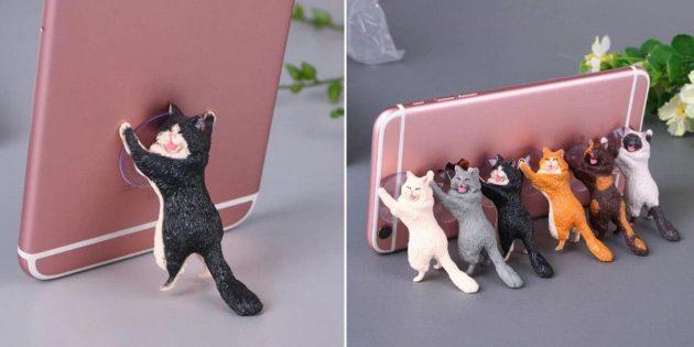 Кот-держатель