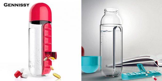Бутылка с контейнером