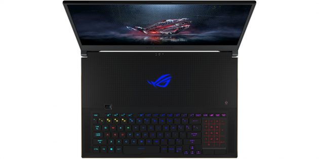 CES 2019: Клавиатура ASUS ROG Zephyrus S GX701
