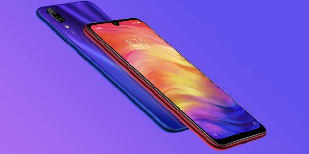 Redmi Note 7: характеристики