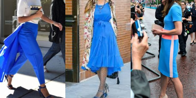 Модные цвета 2019года: принцессин синий