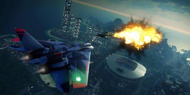 Прохождение Just Cause 4: реактивные самолёты