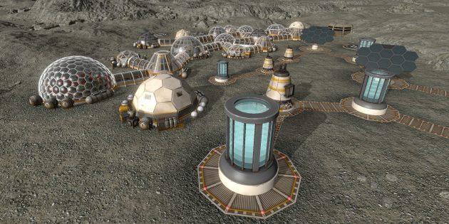 Лучшие градостроительные симуляторы: Planetbase