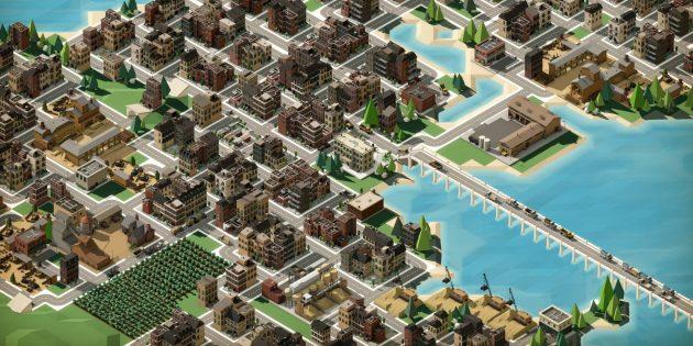 Лучшие градостроительные симуляторы: Rise of Industry