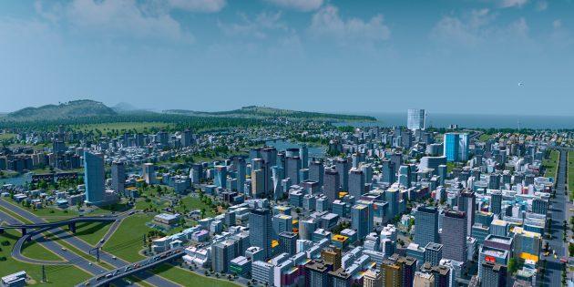 Лучшие градостроительные симуляторы на ПК: Cities: Skylines