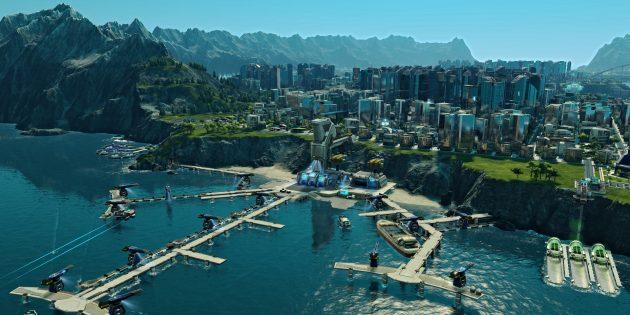 Лучшие градостроительные симуляторы: Anno 2205