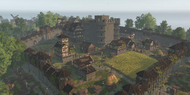 Лучшие градостроительные симуляторы на ПК: Life is Feudal: Forest Village