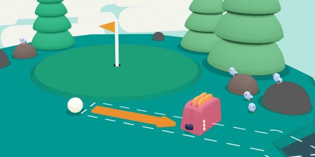 Новые инди-игры на ПК, для консолей и мобильных устройств: What the Golf?