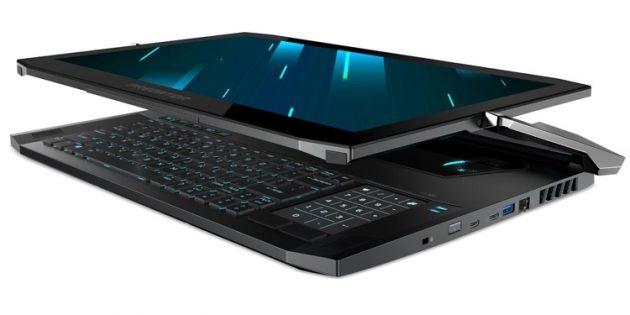 CES 2019: Acer Predator Triton 900 (трансформер)