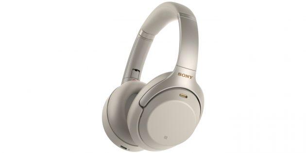 Лучшие беспроводные наушники: Sony WH-1000XM3