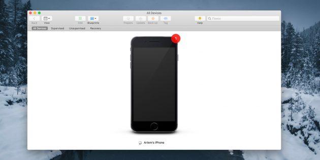 Как заменить иконки приложений на iPhone без джейлбрейка: подключите iPhone к Mac и подтвердите соединение