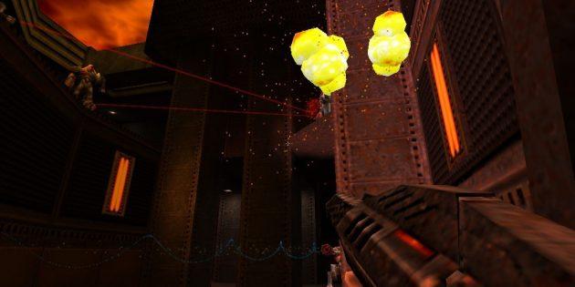 Старые игры на ПК: Стрельба в Quake II