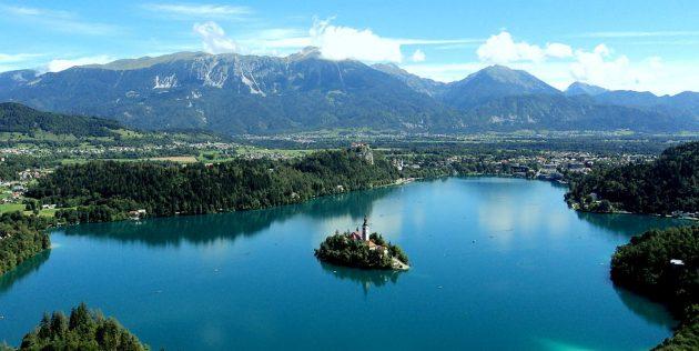 Куда поехать в Европе: Озеро Блед, Словения