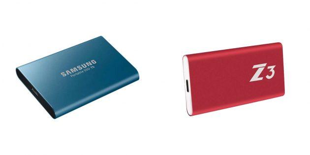 Внешний SSD-накопитель