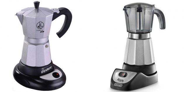 Подарки на 8 Марта: Гейзерная кофеварка