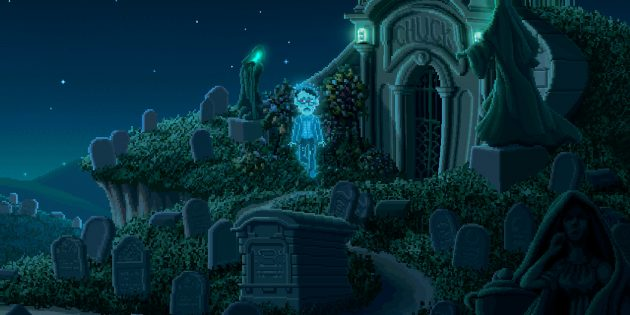 В Epic Games Store раздают Thimbleweed Park — квест от авторов легендарной The Secret of Monkey Island