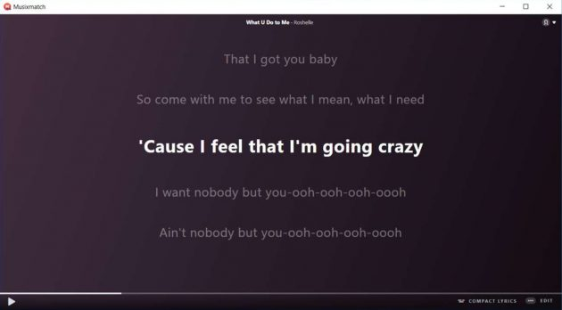 Musixmatch Lyrics