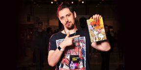 Рабочие места: Руслан Хубиев, переводчик комиксов и сооснователь издательства «Рамона»