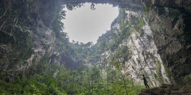 Территория Азии не зря привлекает туристов: пещера Шондонг, Вьетнам