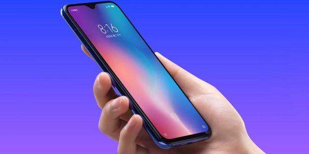 Xiaomi Mi 9SE: минимальные рамки и каплевидный вырез сверху