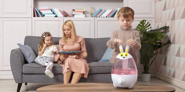 Оборудование «Армед»: Увлажнитель воздуха для детской