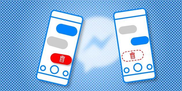 В Facebook Messenger теперь можно отменять отправку сообщений