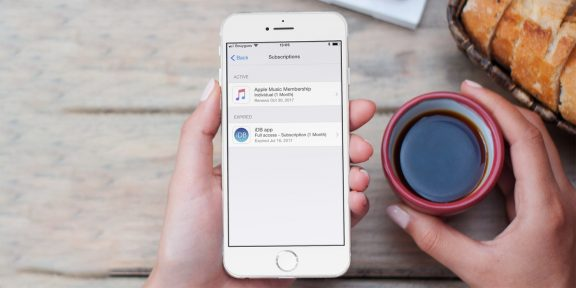 Отключить платные подписки на iOS стало совсем просто