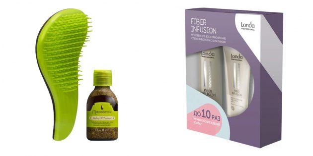 Подарки на 8 Марта: Набор для ухода за волосами