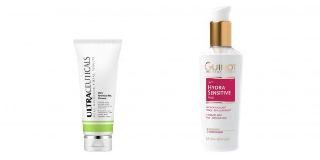 Мужская косметика: Очищение сухой кожи
