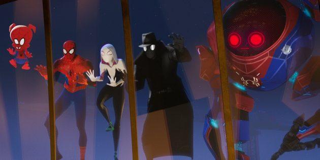 Кадр из «Человека-паука»