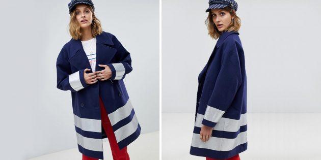 Оверсайз-пальто от Asos Design