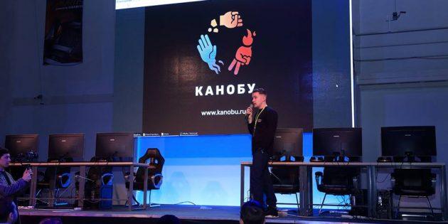Антон Городецкий представляет «Канобу» на выставке Central Asia Games Show (CAGS)